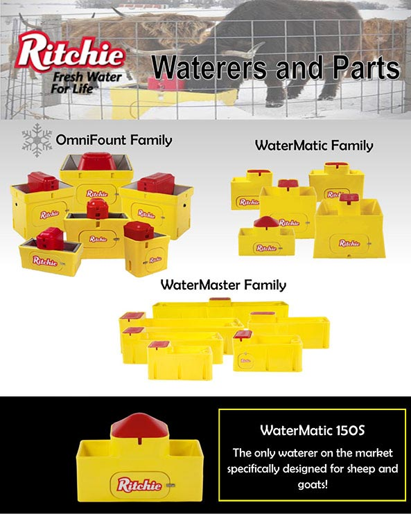 Ritchie Waterers and Parts